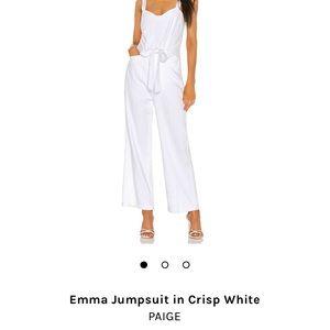 Emma Jumpsuit in Crisp White (PAIGE)